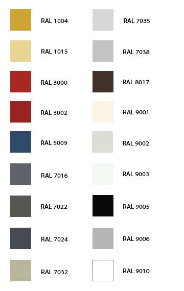 RAL-kleuren