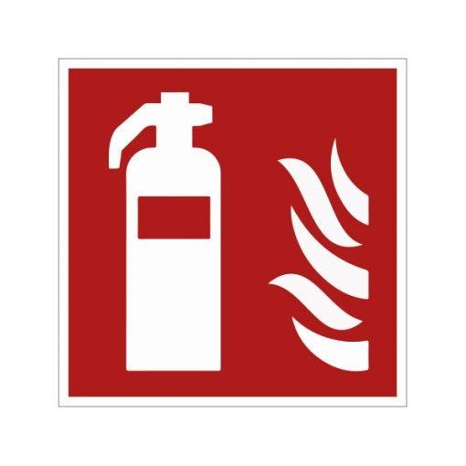 Pictogram brandblusser 15x15 cm kopen