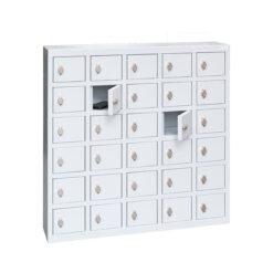 Mini lockers met hangslot online bestellen